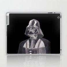 Darth Vader [Grayscale on Black] Pencil Laptop & iPad Skin