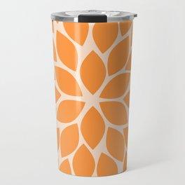 Sherbet Chrysanthemum Travel Mug