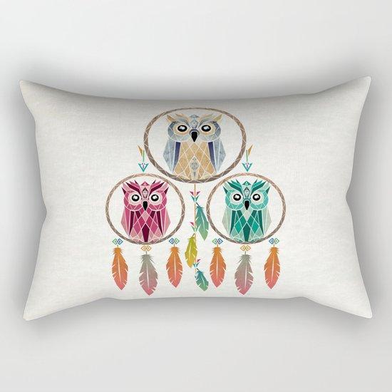 dream owl Rectangular Pillow