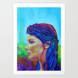 Caitriona Balfe Art Print