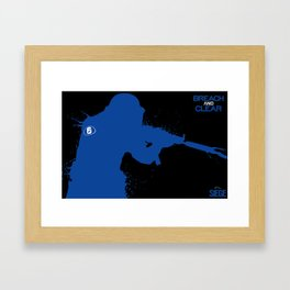 Breach And Clear - Rainbow six Framed Art Print
