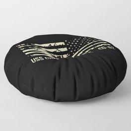 USS Chancellorsville Floor Pillow