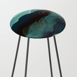 Indigo Mountains Counter Stool