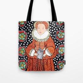 Queen Elizabeth 1 Tote Bag