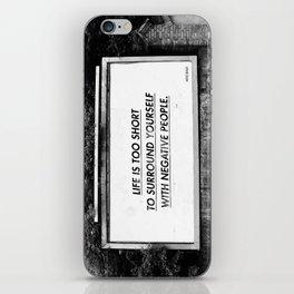BILLBOARD FANTASIES #5 iPhone Skin