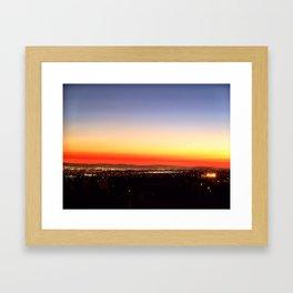 Raze Framed Art Print