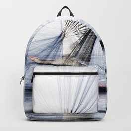 Goose wings lines study Backpack