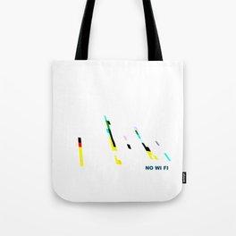 NO WI-FI Tote Bag
