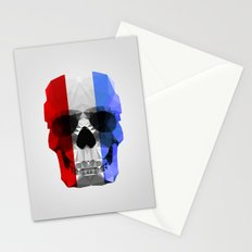 Polygon Heroes - The Patriot Skull Stationery Cards