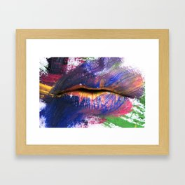 """canvas"" Framed Art Print"