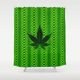 Psychedelic Kush Shower Curtain