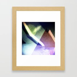 MOONLIGHT_COLOR Framed Art Print