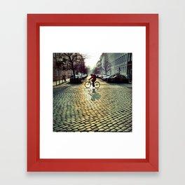 cobblestones Framed Art Print
