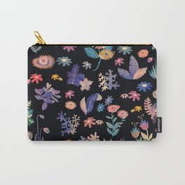 color flowers in the dark Carry-All Pouch
