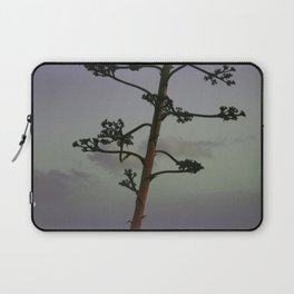 Agave flower stalk and clouds Laptop Sleeve