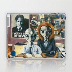 X-Files - Agent Grey Laptop & iPad Skin