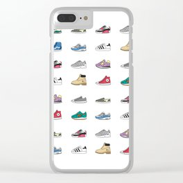 Kicks Clear iPhone Case