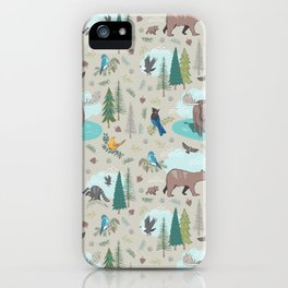 Wild Adventures iPhone Case