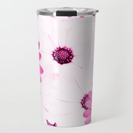 Pink  Gerbera Travel Mug