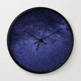 night stars-milky way Wall Clock