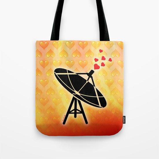 Love Antenna Tote Bag