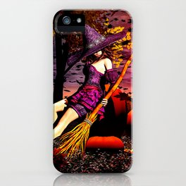 Season Of The Witch iPhone Case