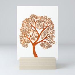 Corals in Copper Mini Art Print