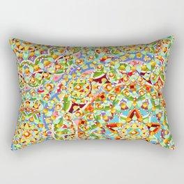 Rainbow Candy Trinkets Rectangular Pillow
