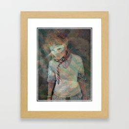 THE BLONDEST ROAR Framed Art Print