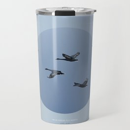 [4.10—4.14] Wild Geese Fly North Travel Mug
