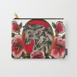 Pharaoh's Horses Carry-All Pouch