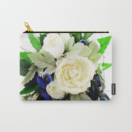 Flowers # Carry-All Pouch