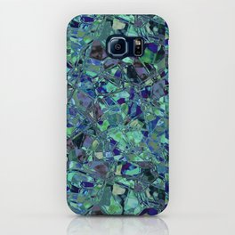 Blue And Green Stained Glas iPhone Case