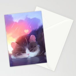 napping club Stationery Cards
