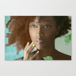 Don't Tell Her She's Pretty For A Darkskin Girl  Canvas Print