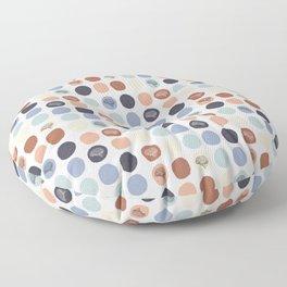 Vintage Brains – Color  Floor Pillow