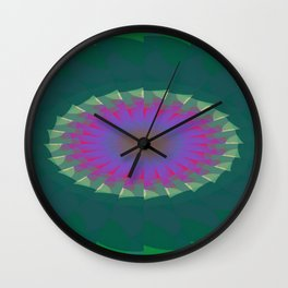 Affronted Fissure Wall Clock