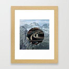 secret highway Framed Art Print