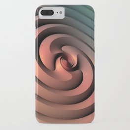 Spiraling One iPhone Case