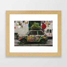 Funky Car Framed Art Print