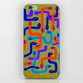 serpent pattern iPhone Skin