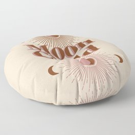 Vintage Moon Child Floor Pillow