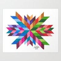 Flecha Art Print