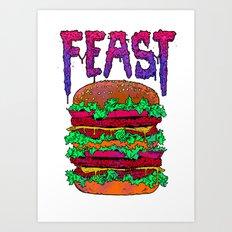 FEAST Art Print