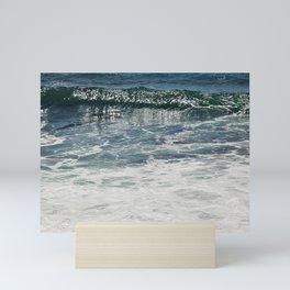 Aqua Teal Deal Mini Art Print