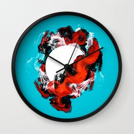 In Circle - I Wall Clock