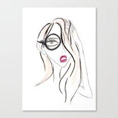 Lady Boss Canvas Print