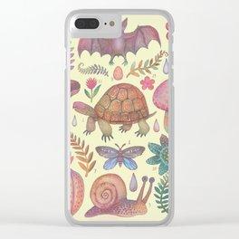 Et coloris natura VII Clear iPhone Case