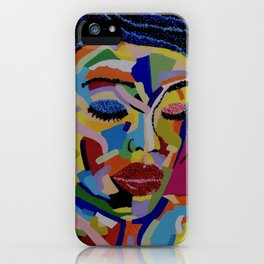 Fauve Lady 1 iPhone Case