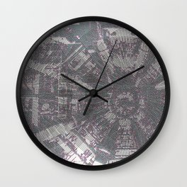 CERN: The Large Hadron Collider: A Love Story Wall Clock